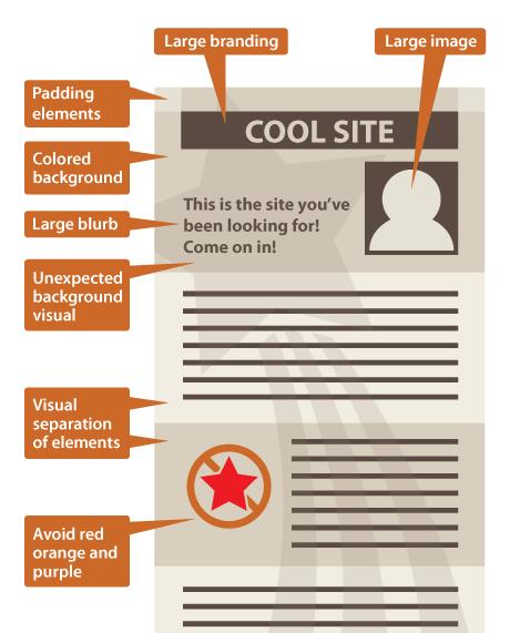 구글 인스턴트 프리뷰를 위한 디자인 예시
