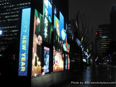 [을지로] 밤이 더 아름다운 도심의 불빛 _ 을지 한빛 거리