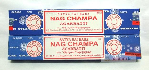 인도향 나그 참파(Nag Champa) 오리지널 정품 VS 짝퉁 비교