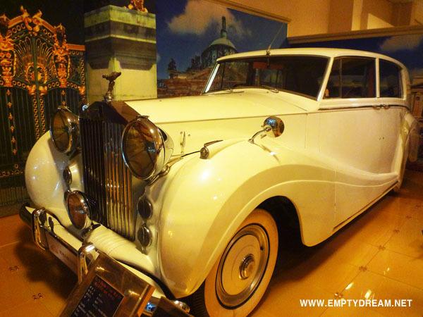 세계자동차제주박물관, 롤스로이스 실버레이스 Rolls. Royce Silver wraith