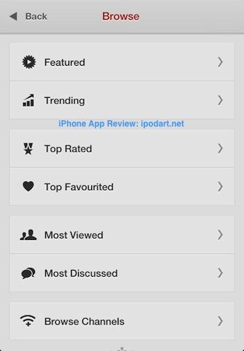Jasmine - YouTube Client 유투브 동영상 아이폰 아이패드