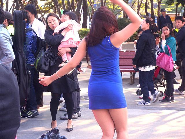 슈퍼스타K 3 부산 예선 현장, 부산댄스녀