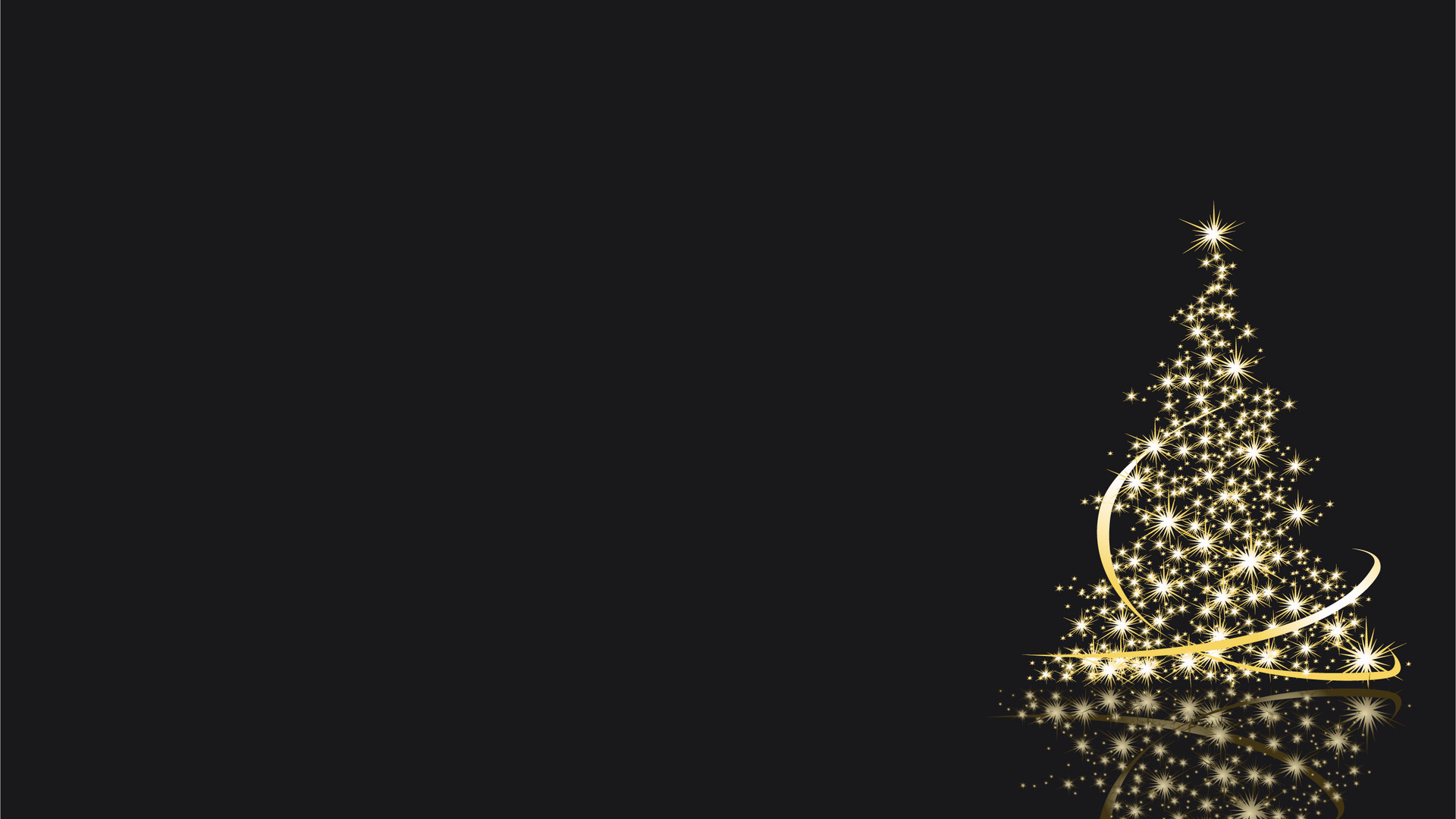 gold christmas tree wallpaper - photo #12