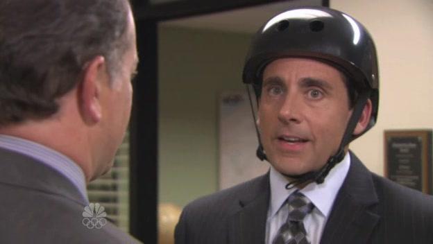 헬멧을 쓰자