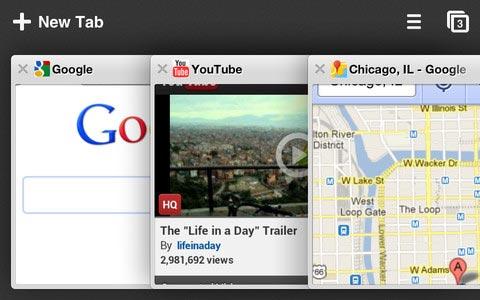 아이폰용 크롬(Chrome), 아이패드용 구글 크롬 웹브라우저
