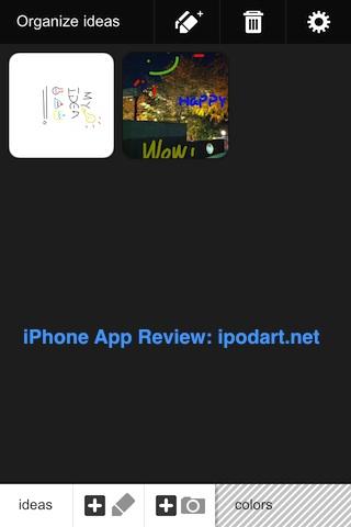 아이폰 아이팟터치 사진과 레이어 그림 Adobe Ideas