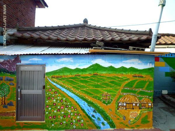 인천 배다리 벽화골목