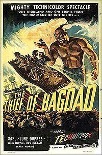 바그다드의 도적 (The Thief of Bagdad, 1940)