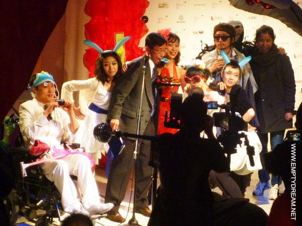 2010 제3회 홍대앞 문화예술상 시상식 파랑캡슐