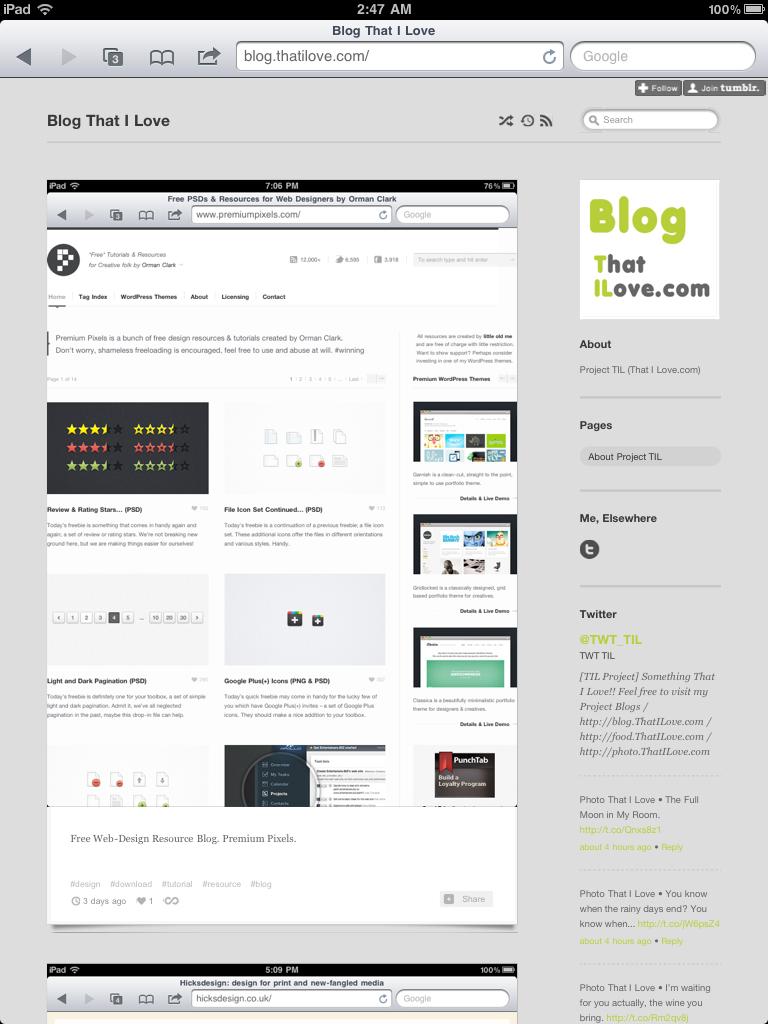Blog.ThatILove.com