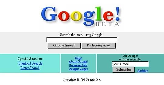 이미지출처: http://en.wikipedia.org/wiki/Google