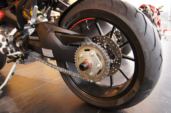 Ducati Monster 796 696 695 1100 Rear Swingarm Slider
