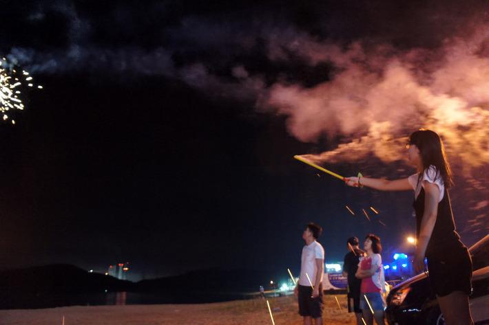 2012 학암포 3km 장거리 바다 핀수영축제