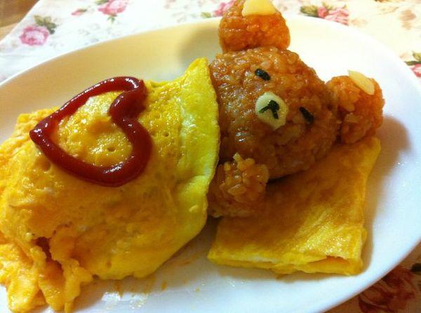 이래도 먹을래? 일본에서 가장 귀여운 오믈렛!