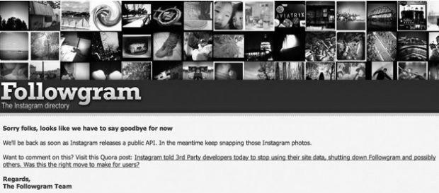 Instagram Blocks Followgram