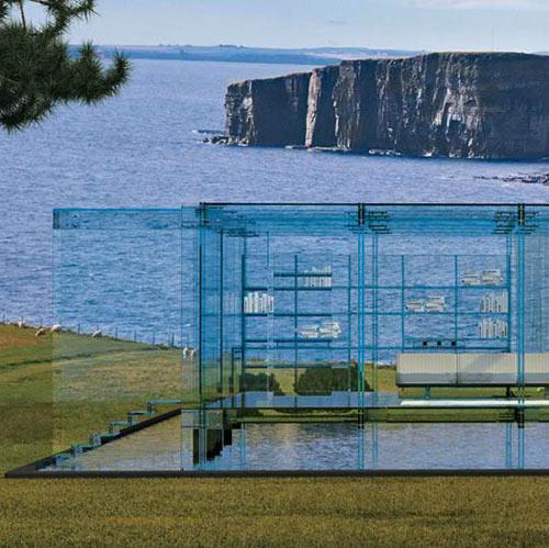 Santambrogiomilano for All glass house plans