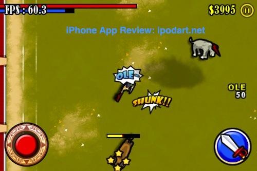 아이폰 아이팟터치 투우 Bullfighting Hero