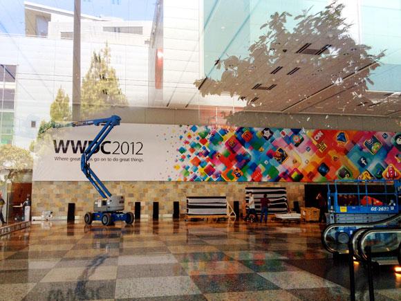 Apple WWDC 2012 Banner