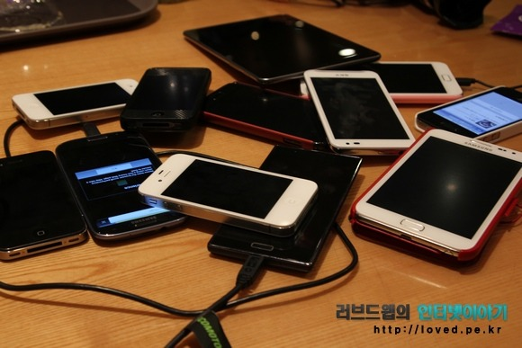 안드로이드 스마트폰 태블릿 그리고 아이폰