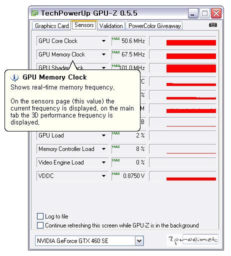 그래픽카드, 그래픽카드 보는법, 그래픽카드 사양보는 프로그램, 그래픽카드 성능, 그래픽카드 사양, GPUZ, GPU-Z, TechPowerUp, Nvidia, GTX 460, GTX460 SE, 그래픽카드 벤치마킹, 그래픽카드 벤치마크, 지포스 GTX 460, 그래픽카드 속도, 그래픽카드 온도, GPU