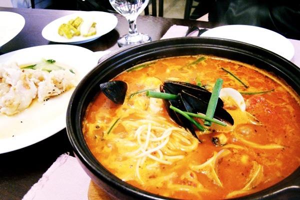 [서울맛집] 삼청동 드미엘 맛있는 찹쌀탕수육을 먹다.
