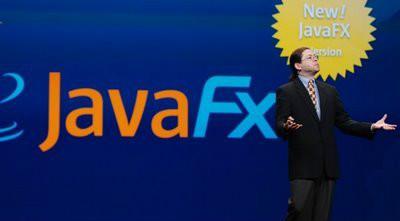 (그림 3. JavaFX 1.2 2009년)