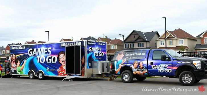 비디오 게임 트럭입니다