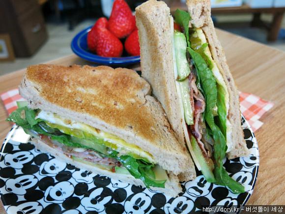 샌드위치를 더 맛있게 즐겨 본 자취인의 아침 메뉴 4가지