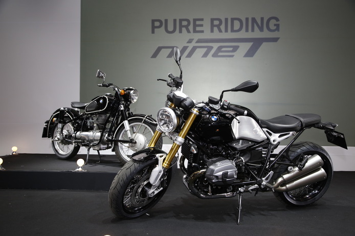 BMW Korea Launches The New BMW R nine T (03/2014)