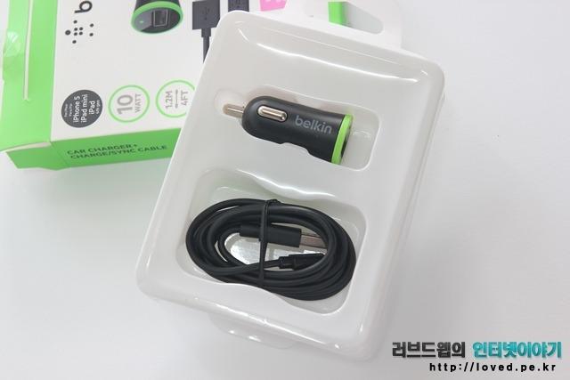 아이폰5S 차량용 충전기