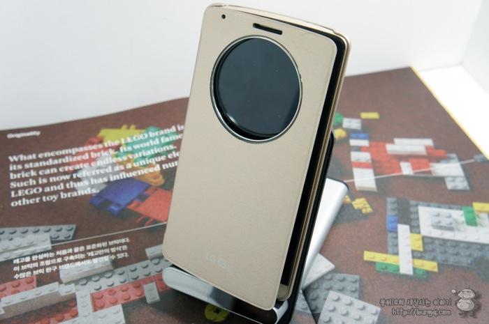 LG G3, 퀵서클케이스, 기능, 무선충전, 무선충전기, WCD-800