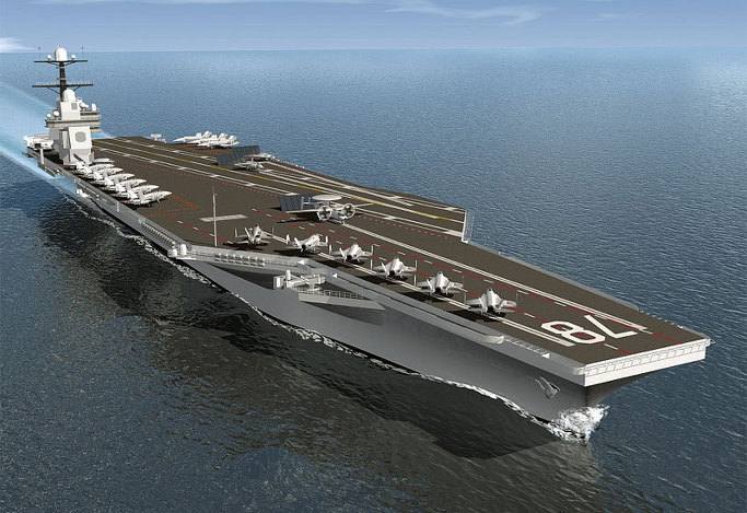 CVN-78 제랄드포드 미항공모함