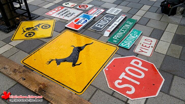 도로 표지판