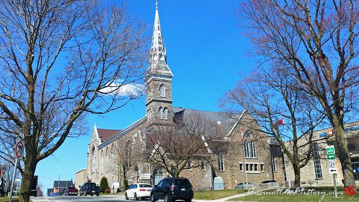 캐나다 연합 교회입니다