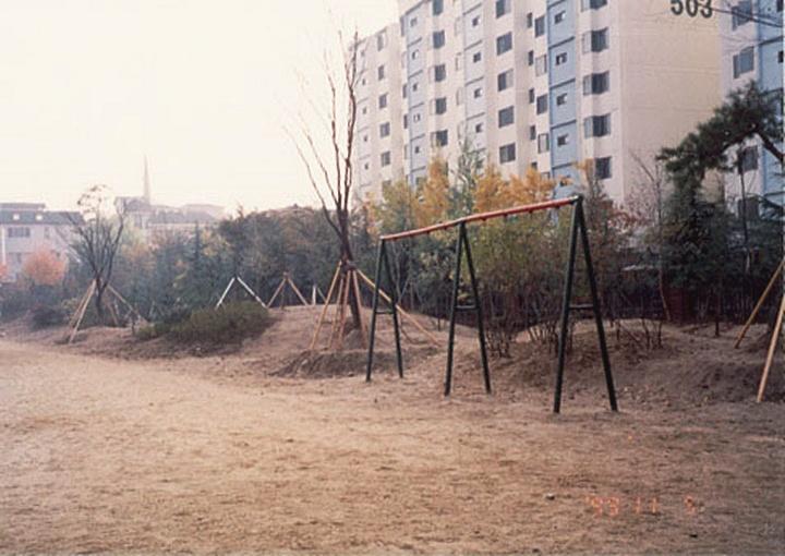 화랑초등학교 학교숲 초기