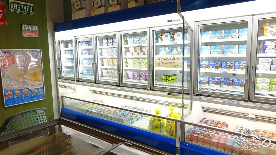 오키나와맛집 블루씰아이스크림 오키나와공군기지 blue seal 오키나와명물 오키나와쏠트아이스크림 베니모아이스크림 마키미나토 블루씰본점