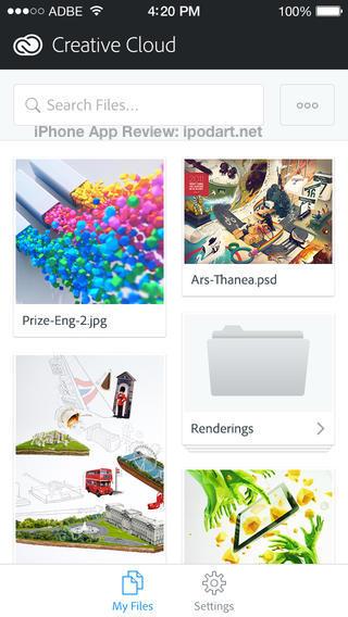 Adobe Creative Cloud 아이폰 아이패드 어도비 크리에이티브 클라우드