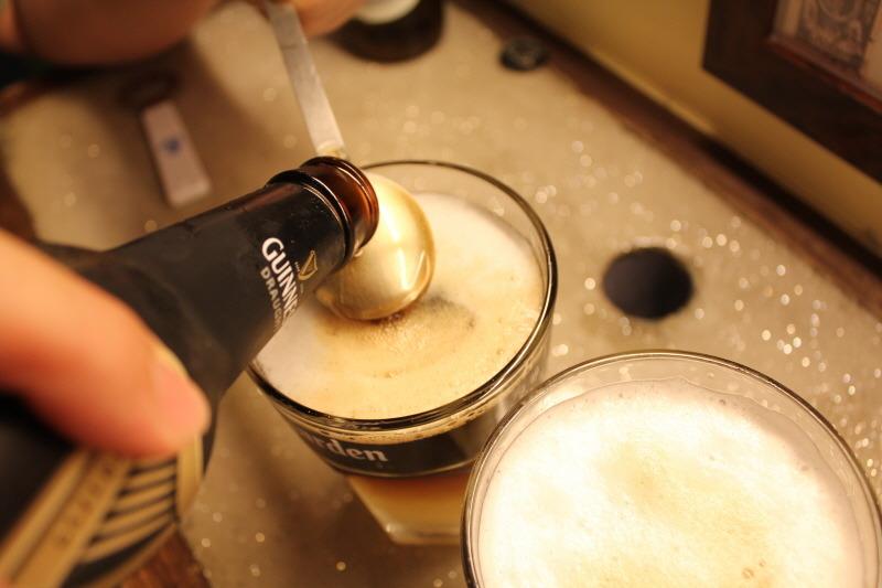 기네스, 호가든, 맥주 칵테일, 맥주 칵테일 만들기, 칵테일, 더티호 만드는 법, 더티호, 봉구비어, 맥주, 더티호 만들기, 맥주칵텔