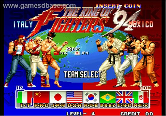 The King of Fighters 94 title