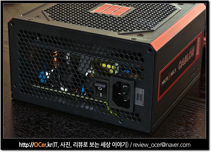 마이크로닉스, 마닉, micronics, 파워서플라이, 파워, pc 파워, PSU, IT, 리뷰, 이슈, PC, PC조립, 마이크로닉스 CASLON 500W After Cooling 87+ FDB
