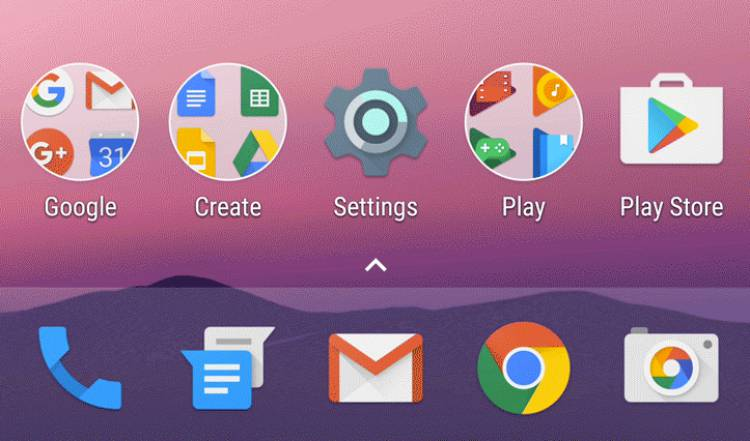 구글, 안드로이드, 누가, 홈런처, 앱서랍, UI