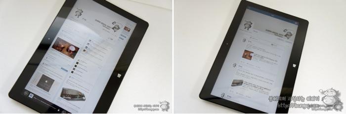 LG 탭북2(11T540-G330K), 페이스북, 비교