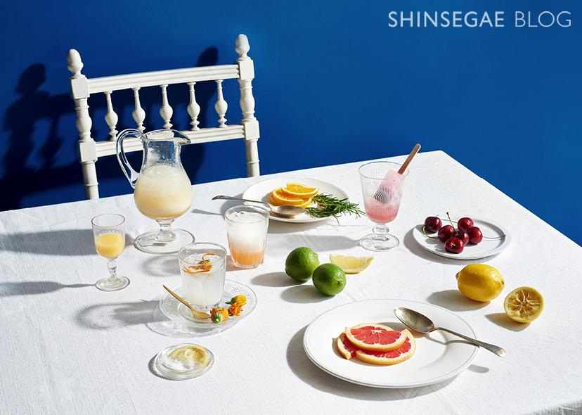 [FOOD] 여름철, 건강 챙기면서 취하자! <br>상큼한 과일 막걸리