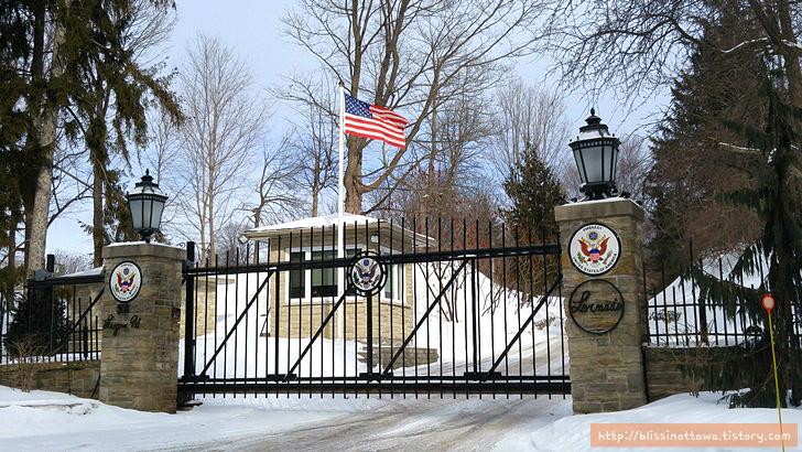 캐나다 부자 동네 미국 대사관저
