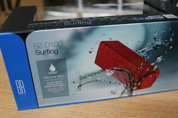 BZ-D100 Surfing, 블루투스 스피커, 캠핑 스피커, 포터블 스피커, 휴대용 스피커, 브리츠 스피커, Bluetooth Speaker, Britz 스피커, BZ-D100, 무선 스피커, 블루투스 스피커 추천