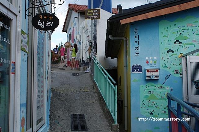 통영, 동피랑마을