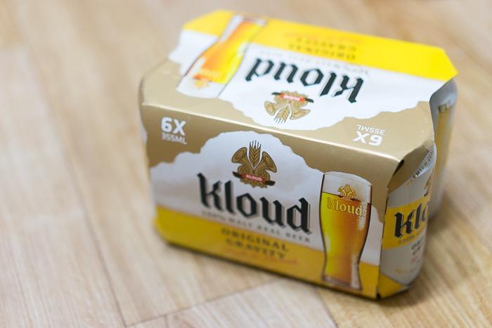 전지현 맥주 클라우드 - 100% 몰트 비어 클라우드를 선물 받다