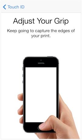 아이폰5s 터치ID 사용방법과 팁