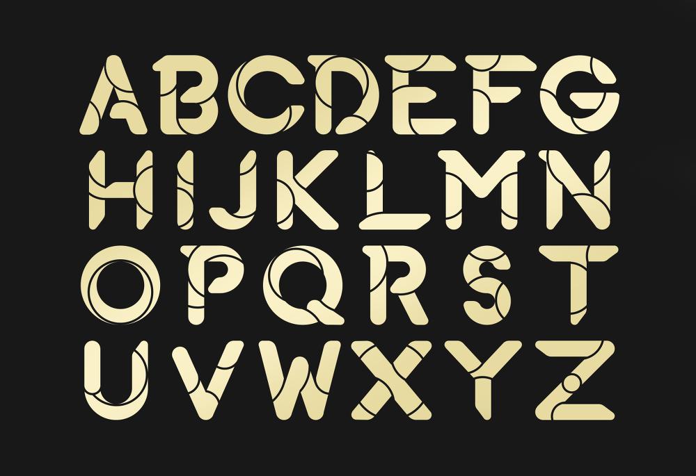 다양한 스타일의 연출이 가능한 무료 영문 폰트 - Fuerte Typeface (Free Font)