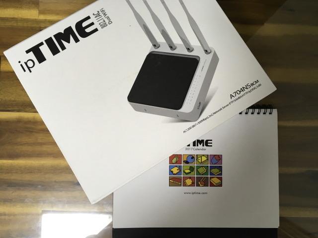 ipTIME A704NS-BCM 유무선 공유기